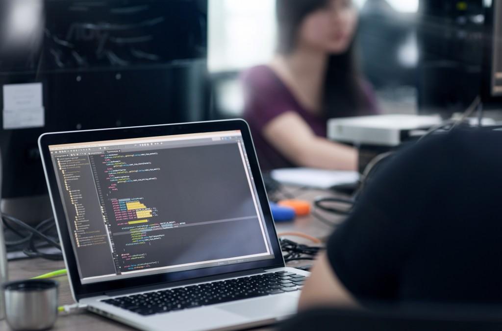 code in IDE