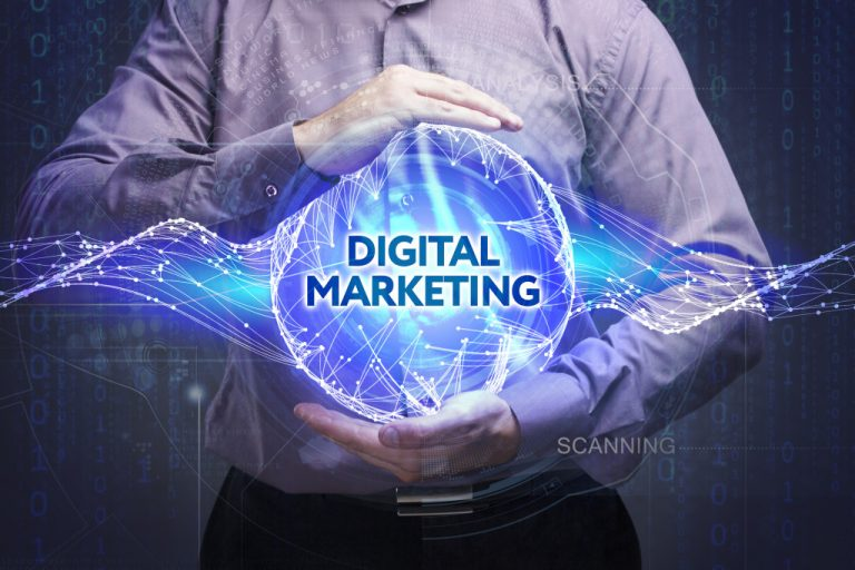 digital marketing visualization