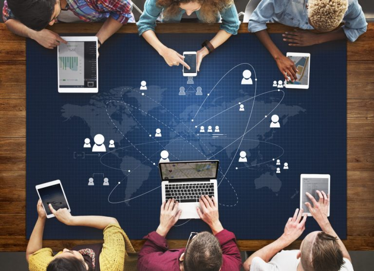 digital media concept